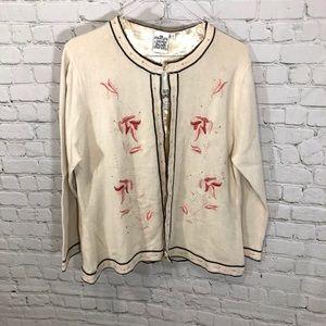 Parsley & Sage Cardigan Sweater